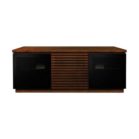 Modern Audio Cabinet by 65 Wide Espresso Finish Wood Audio