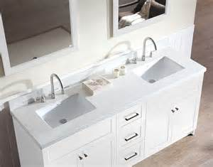 Vanity Countertop Ariel Hamlet 73 Quot Sink Vanity Set With White Quartz
