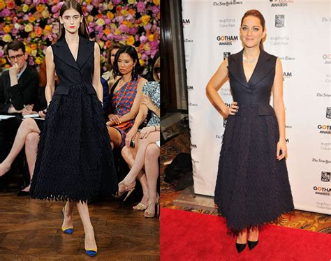 Catwalk To Carpet Marion Cotillard In Chanel 2 by And I From The Runway To The Carpet Madman