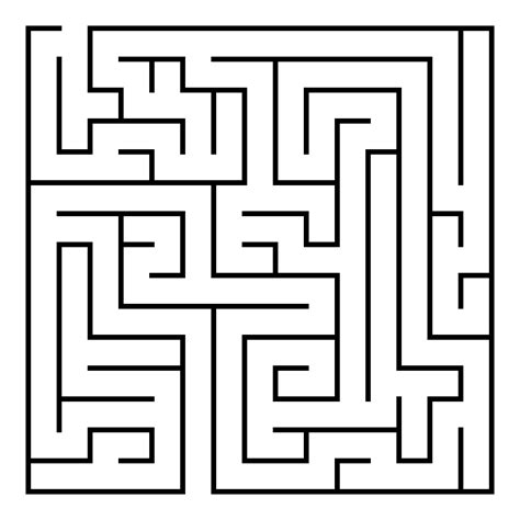 printable free mazes free printable maze eight