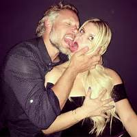Jessica Simpson &amp Eric Johnson Tongue Kiss In Racy Date Night Pic