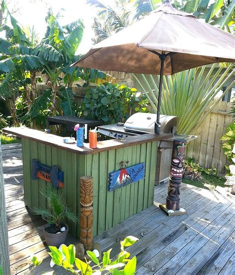 how to build a tiki bar easy woodworking projects plans