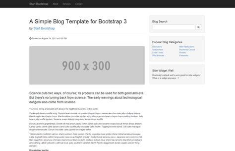 start bootstrap unstyled free bootstrap templates and themes