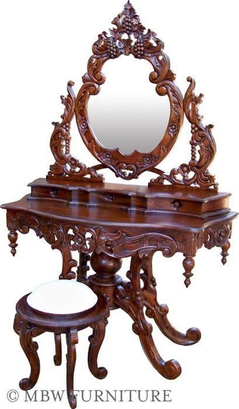 custom made vanity table custom made solid mahogany mirror vanity dressing