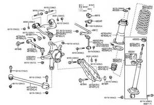 Lexus Is300 Parts Diagram 2001 Lexus Is300 Rear Shock Absorber