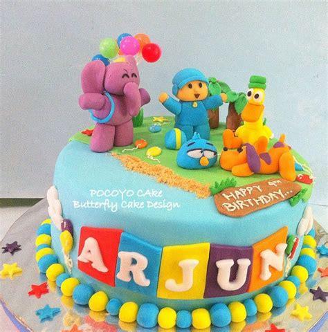 pocoyo birthday cake pocoyo cake cake design cakes