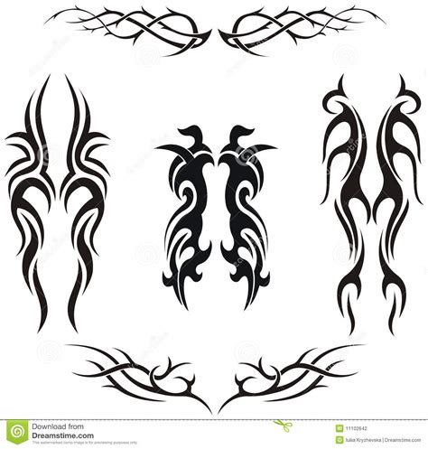 tribales tattoos tatuajes tribales vector fotograf archivo imagen car
