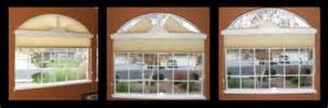 Entry door window treatments and sidelight window treatments