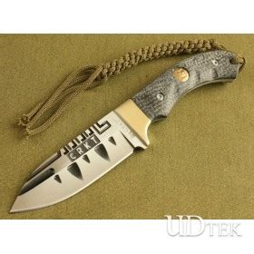 7cr13 stainless steel fixed blade knife
