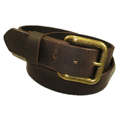 Handmade Mens Belts - mens genuine solid buffalo leather belt handmade ebay