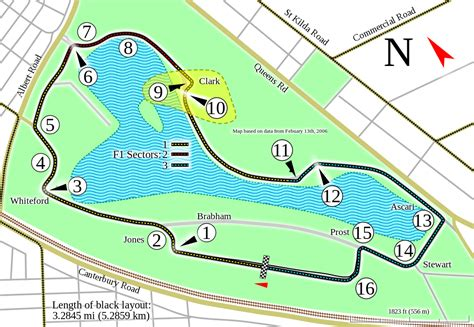 racetrack layout meaning melbourne grand prix circuit wikipedia