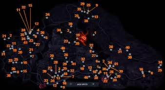 need for speed most wanted spot locations guide