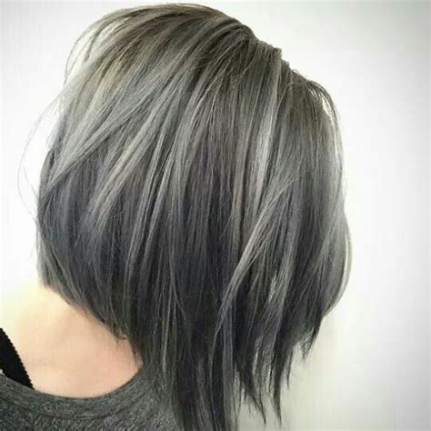hairstyles grey hair funky 25 best ideas about grey hair young on pinterest silver