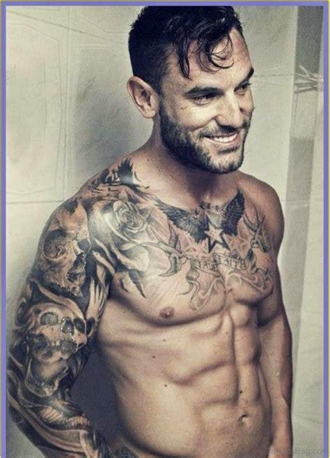 75 brilliant chest tattoos for men