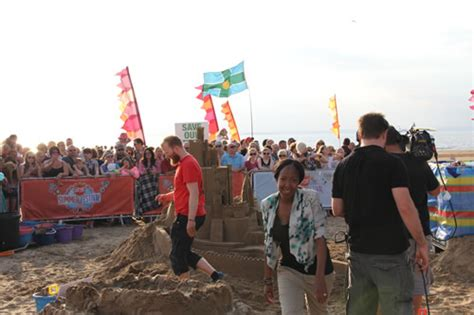 The Science Of The Sitting Guard Matt Baker 2 Dvd Set sand in your eye on the one show in weston mare