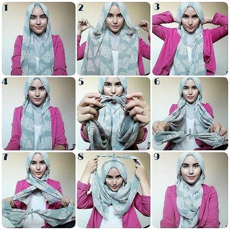 Hijabjilbabkerudungsegi Empatsquarepashminascarfshawl 8 10 طرق لف الحجاب بالصور والخطوات عرب فاشون