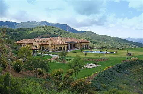 Luxury Floor Plans For New Homes 13 995 Million Mediterranean Mansion In Thousand Oaks Ca