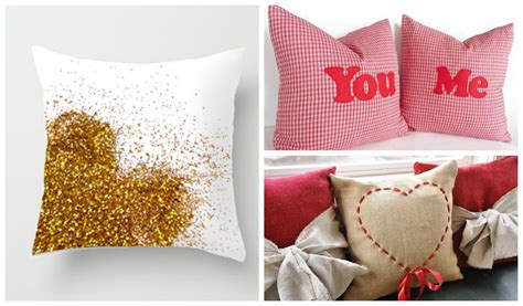 25 Adorable DIY Pillows for Valentine?s Day