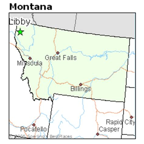 Average Rent Cost best places to live in libby montana