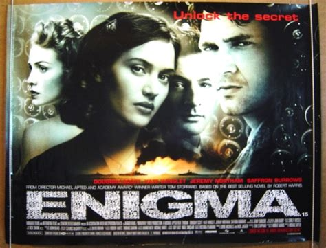 enigma film where filmed enigma original cinema movie poster from pastposters com
