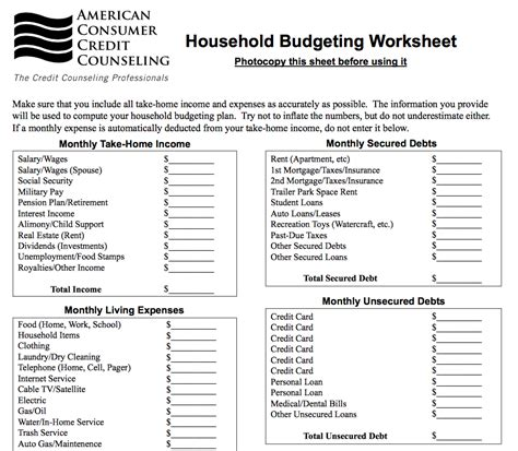 family budget worksheets switchconf