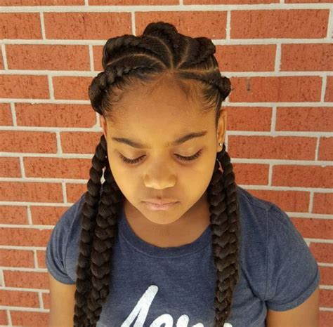 hairstyle gallery for africian american teenagers 25 exles of goddess braids you can choose from for your