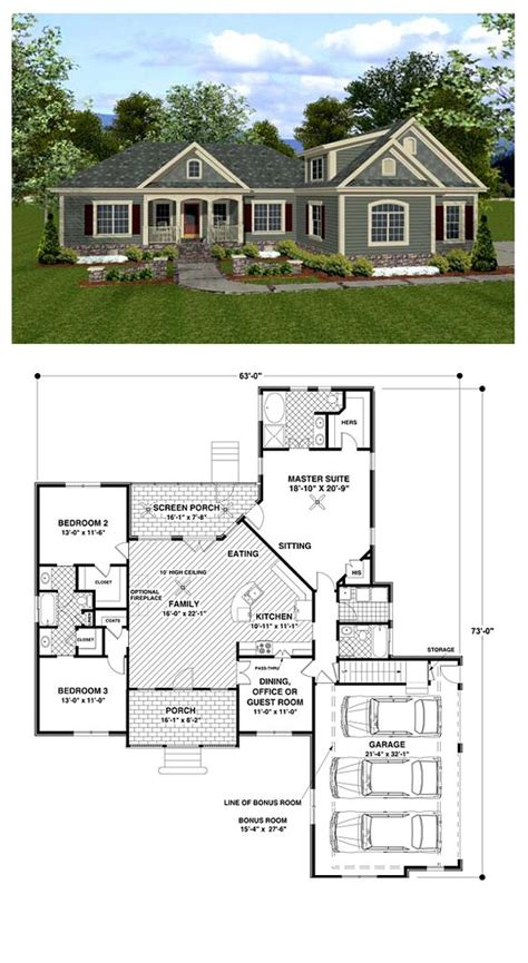 arts and crafts mission floor ls country craftsman house plan 92385 house plans