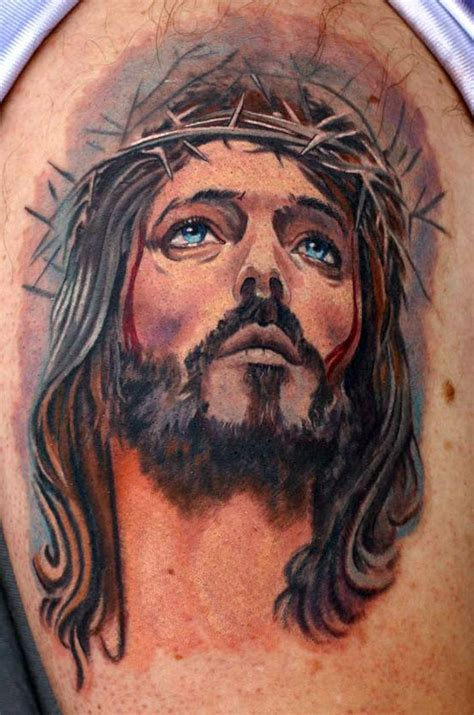 watercolor tattoo jesus jesus images designs