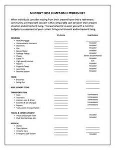 Cost Of Living Spreadsheet Cost Of Living Worksheet Khayav
