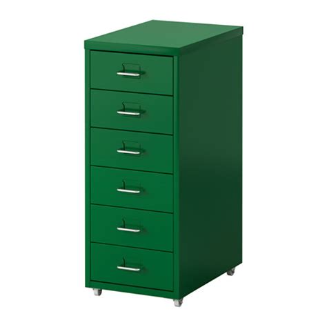 Drawer Unit Helmer Drawer Unit On Casters Green Ikea