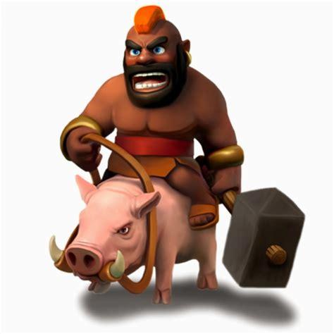 coc hog rider indo clash of clans februari 2015