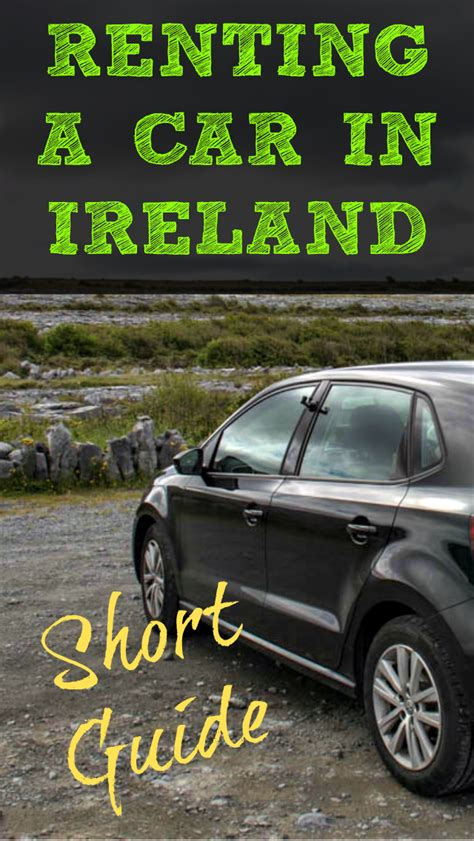 Time Car Insurance Ireland by A Guide To Renting A Car In Ireland Divergent