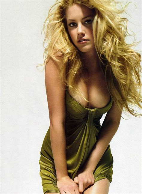 heard of magazineoh amber heard beautiful blonde actress