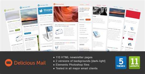 themeforest mailchimp double wink newsletter photographer version by gifky