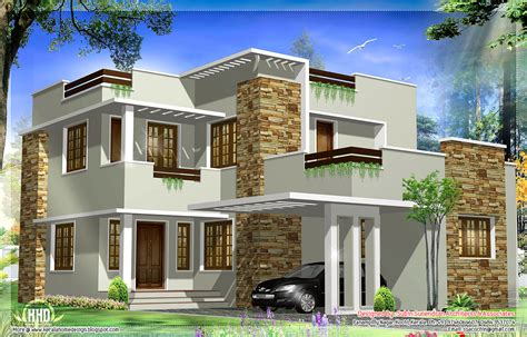 1793 square modern house elevation kerala home