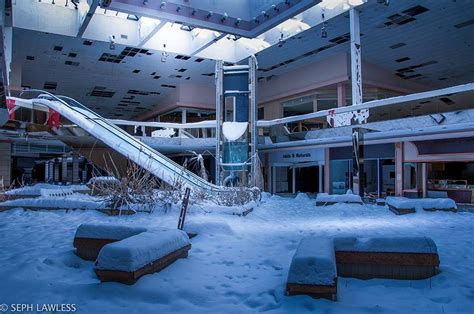 seph lawless rolling acres snowy abandoned mall