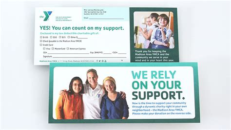 Ymca Fundraising Letter Ymca Annual Appeal Mail Caign Trillion Creative