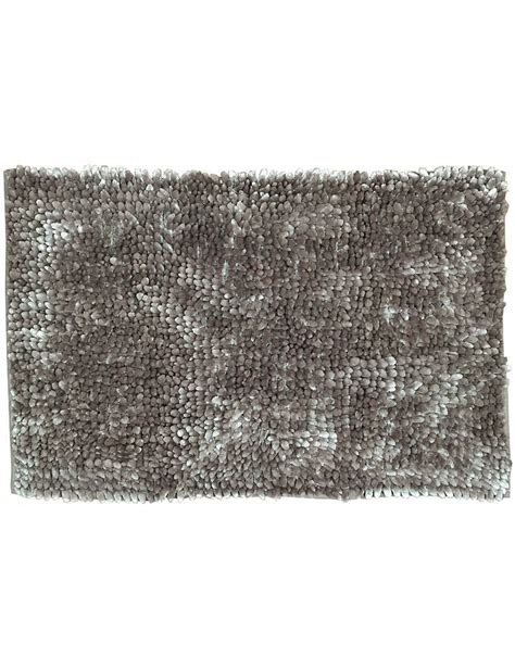 tappeto bagno marrone tappeto bagno antiscivolo chenille cm 50x80 vari colori