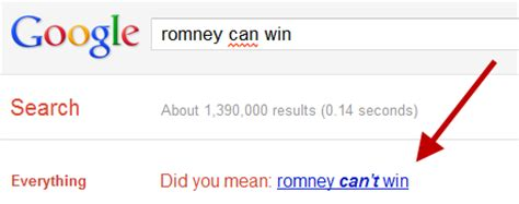 Google Did You Mean Meme - even google thinks quot romney can t win quot search engine land