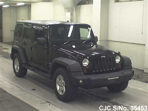 japanese jeep 2008 jeep wrangler black for sale stock no 35453