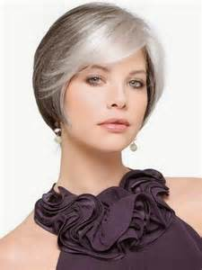 hairstyles for heavy set 50 with gray hair cortes de pelo corto para mujeres jovenes con canas