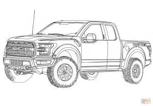Ford Coloring Pages 2017 ford f 150 raptor coloring page free printable coloring pages