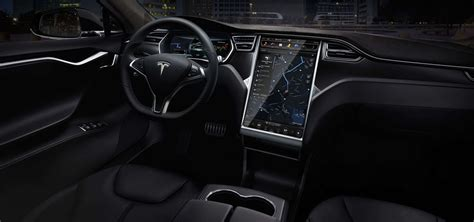 Tesla Ux Tesla Model S P85d Premier Contact Avec Le Touchscreen