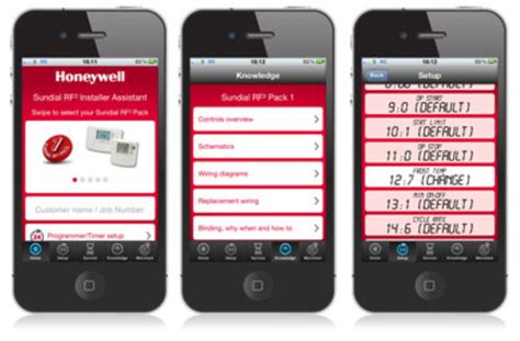product apps honeywell uk heating controls