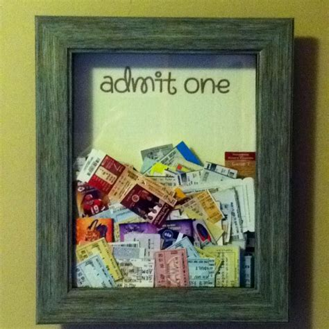 pin by marah ingalsbe on my home pinterest ticket memory box decor ideas for the house pinterest