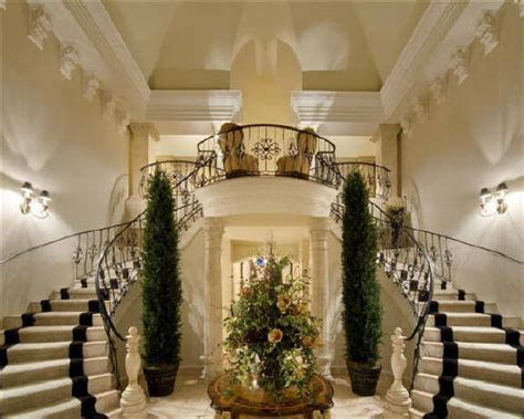 foyer villa luxury house plans