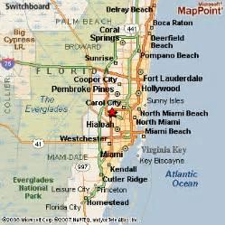 map of lake florida and surrounding areas miami lakes florida