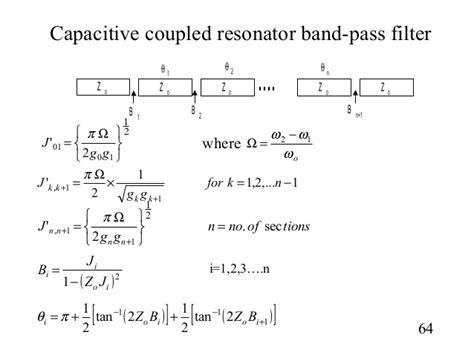 capacitor coupled bandpass filter filter design1