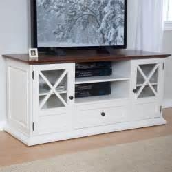 55 tv stands belham living hton 55 inch tv stand white oak at