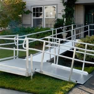 metal handicap ramps